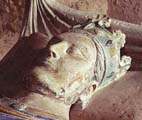 Effigy of Henry II on his tomb at Fontevraud Abbey